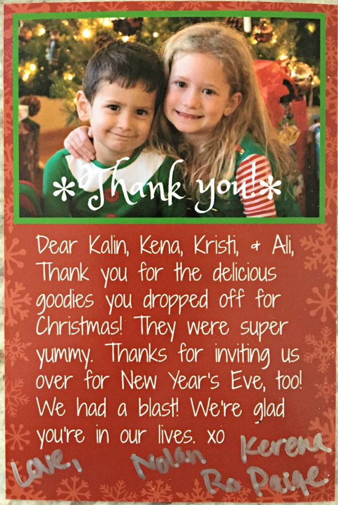 How To Make Cute, Personalized Thank You Notes by Life As A Mama